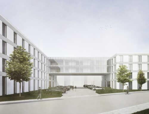 Bürogebäude in Düsseldorf